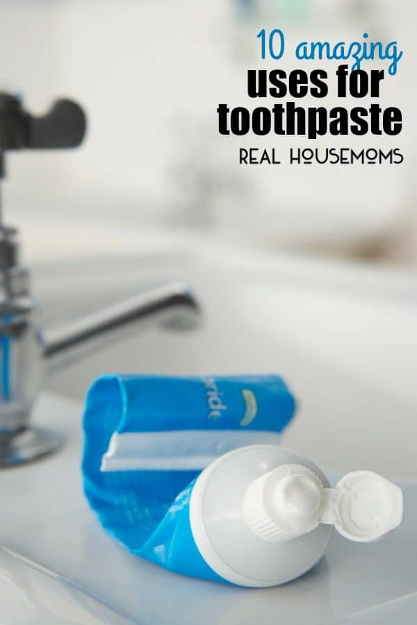 10 AMAZING USES FOR TOOTHPASTE around the house you won't believe! From cleaning to repair one simple tube can do it all!