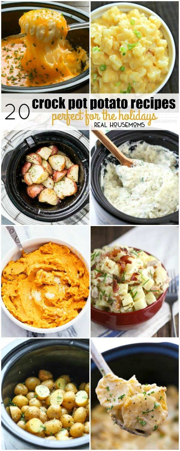 20 crock pot potato recipes perfect for the holidays real housemoms