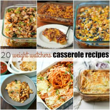 20 Weight Watchers Casserole Recipes