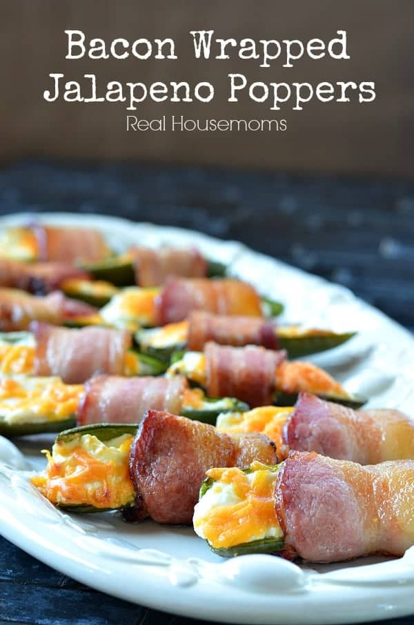 Bacon Wrapped Jalapeno Poppers_Real Housemoms