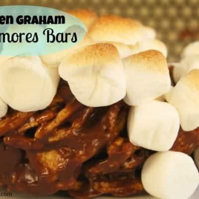 Golden Graham S'mores Bars