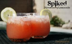 Spiked Strawberry Lemonade
