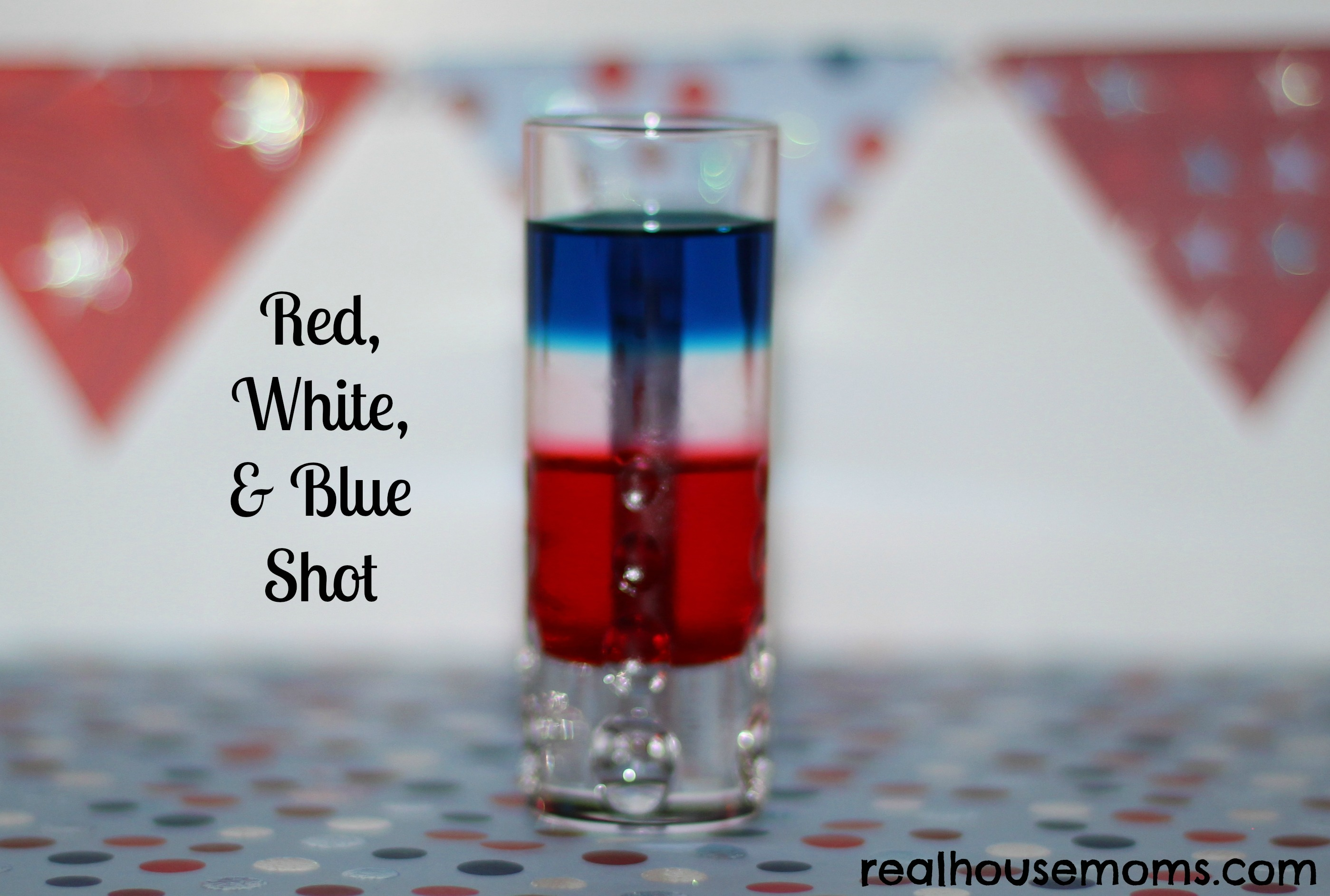 Red White And Blue Shooter Real Housemoms
