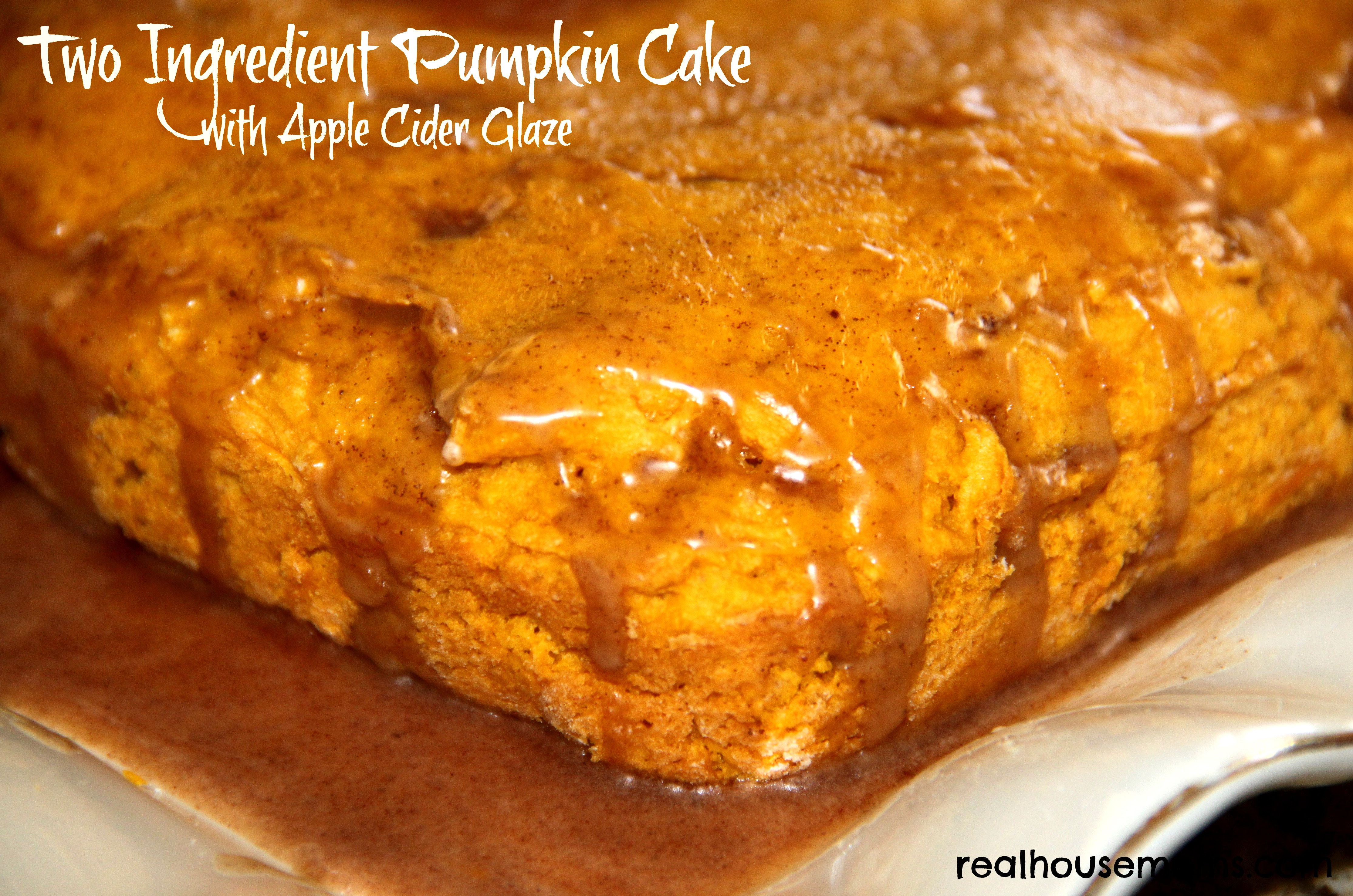Two Ingredient Pumpkin Desserts