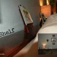 picture in picture of do it yourself shelf
