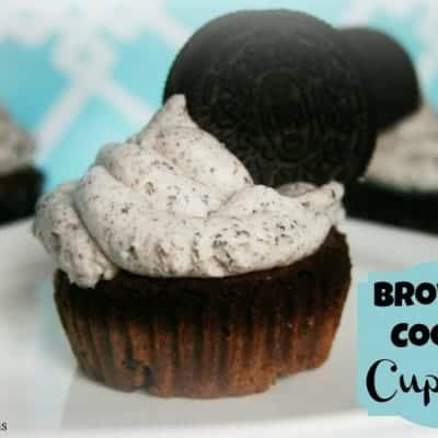 Brownie Cookie Cupcake