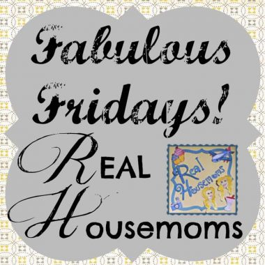 Fabulous Fridays Real Housemoms graphic
