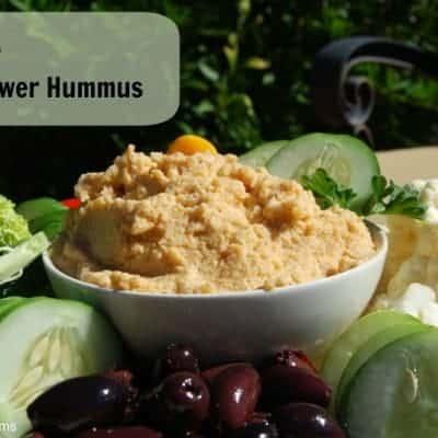 Paleo Cauliflower Hummus