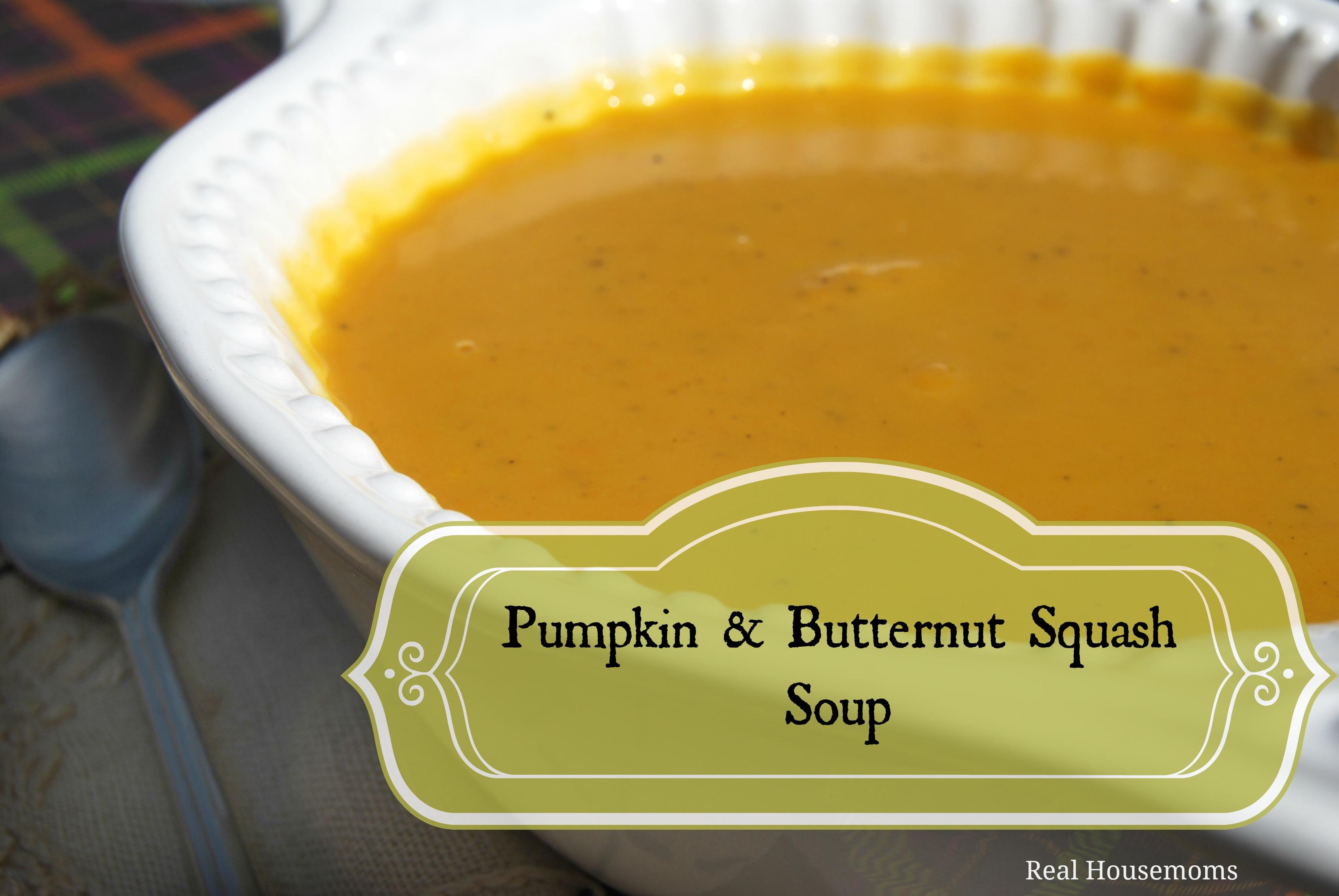 Pumpkin Amp Butternut Squash Soup