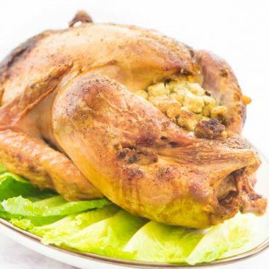 Super Juicy, Brined Roasted Turkey