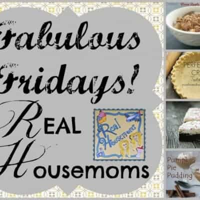 Fabulous Fridays! 5 {Link Party}
