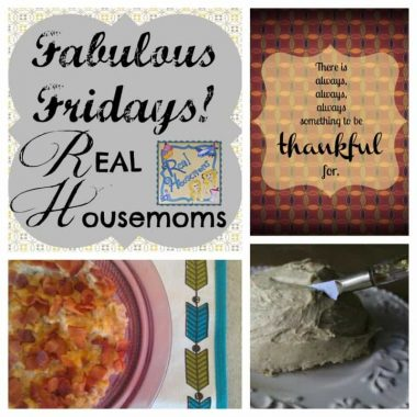 collage with thanksgiving quotable, cheese ball, and creamed corn