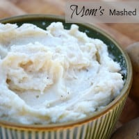 Mom's Mashed Potatoes | Real Houemoms