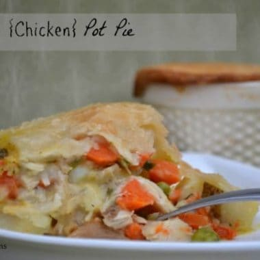 Turkey {Chicken} Pot Pie | Real Housemoms
