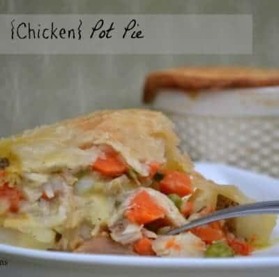 Turkey {Chicken} Pot Pie
