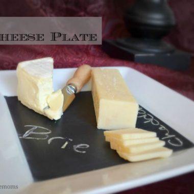 Chalkboard Cheese Plate