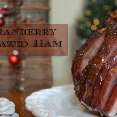 Cranberry-Glazed Ham