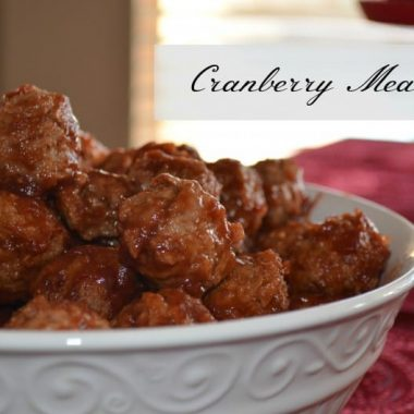 Cranberry Meatballs | Real Housemoms