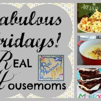 Fabulous Fridays! 7 {Link Party}