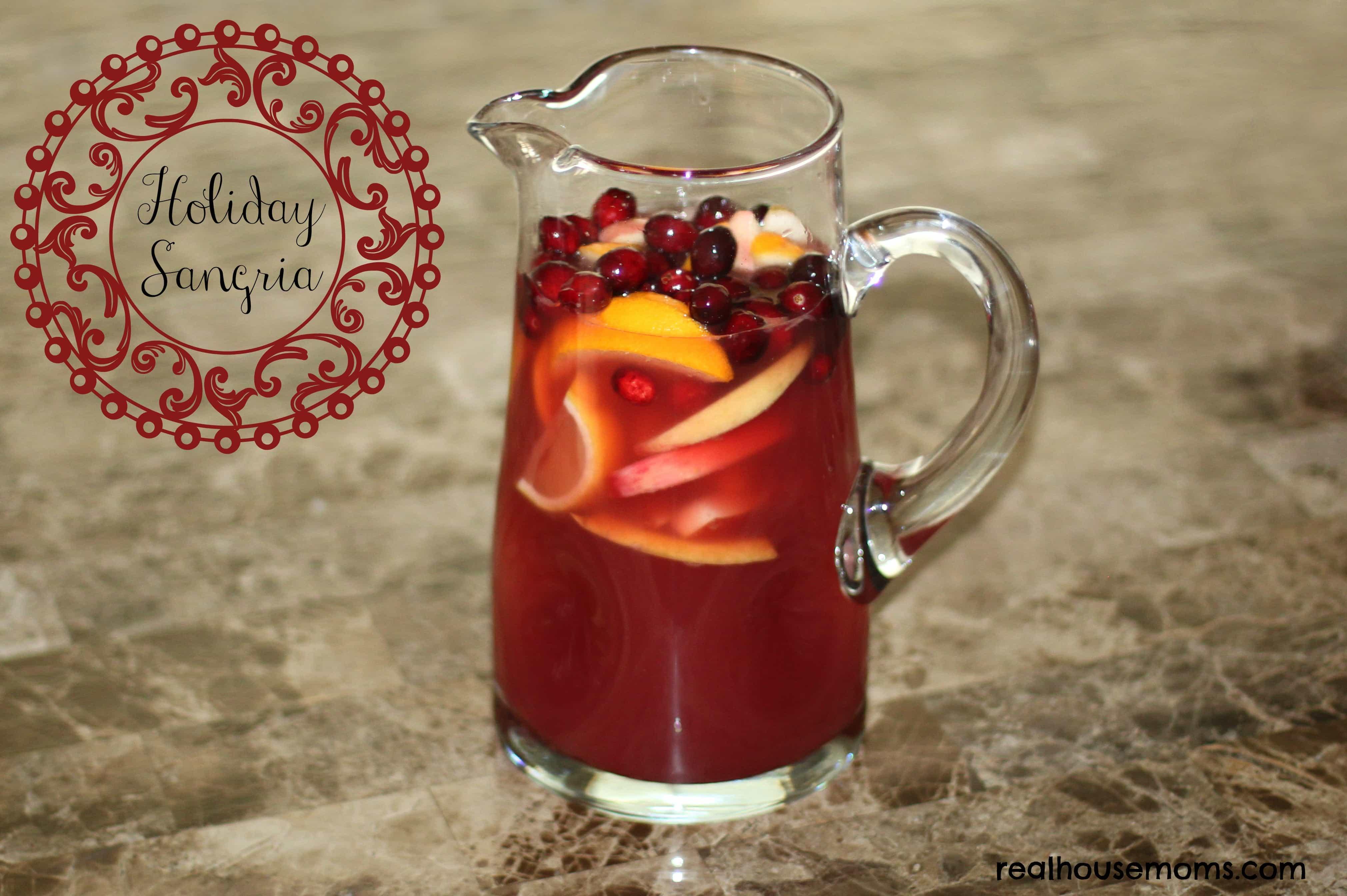 Holiday Sangria Recipe — Dishmaps