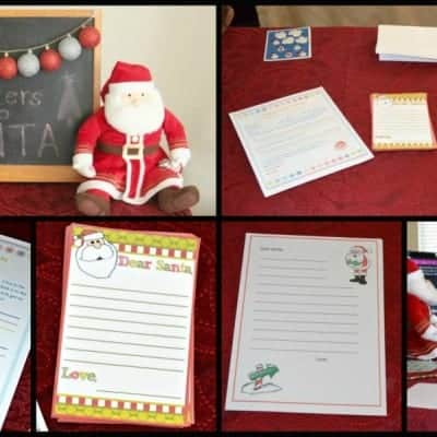 Letters to Santa Party and Appetizer Potluck