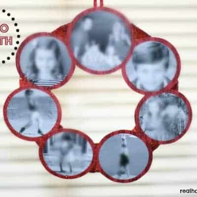 Photo Wreath