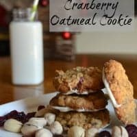 Pistachio Cranberry Oatmeal Cookie | Real Housemoms