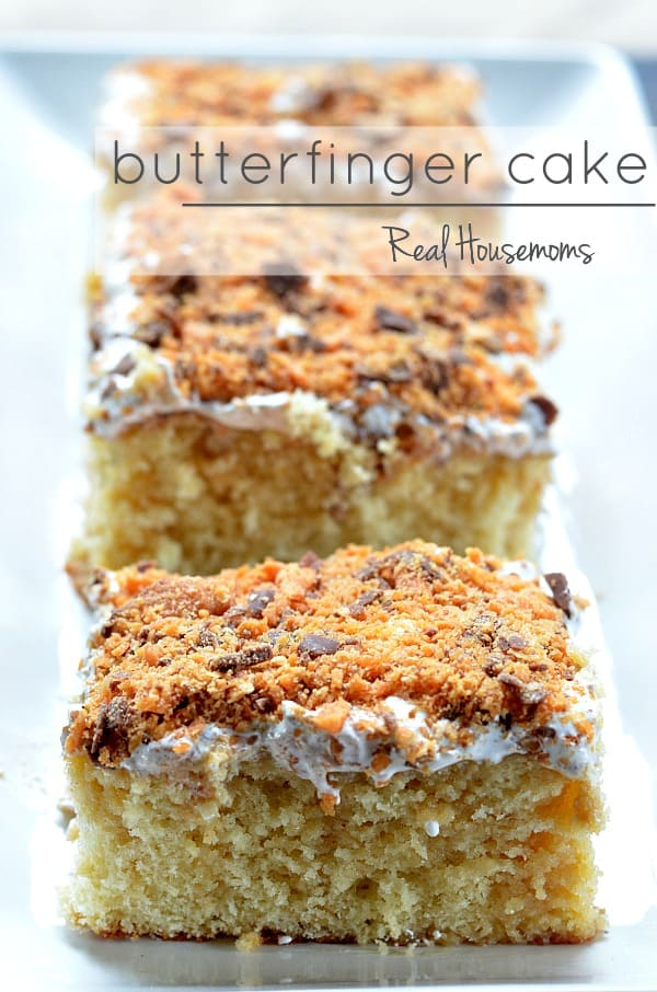 Butterfinger Cake | Real Housemoms