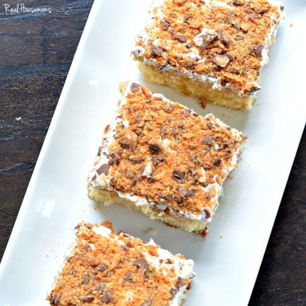 Butterfinger Cake | Real Housemoms