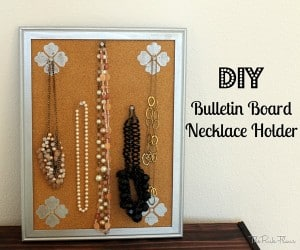 DIY Bulletin Board Necklace