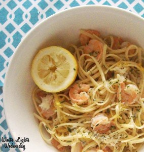 Italian Lemon Shrimp | Real Housemoms