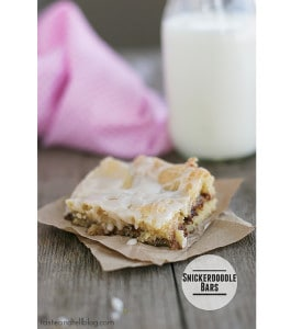 Snickerdoodle Bars from Taste & Tell