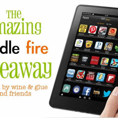 The Amazing Kingle Fire Giveaway | Real Housemoms