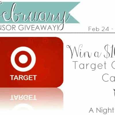 $100 Target Gift Card Giveaway!!!!