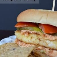 Fish Taco Tilapia Po Boy | Real Housemoms