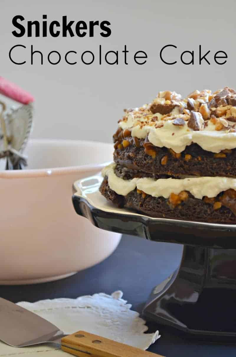 Phenomenal Snickers Chocolate Cake Funny Birthday Cards Online Hetedamsfinfo