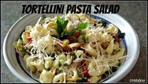 Tortellini Pasta Salad from CrazyLou