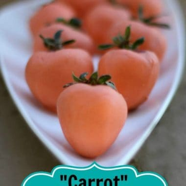 carrot themed white chocolate covered strawberries