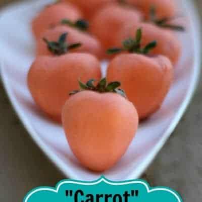 """Carrot"" Strawberries"