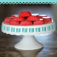 Cherry JELL-O Yogurt Bites
