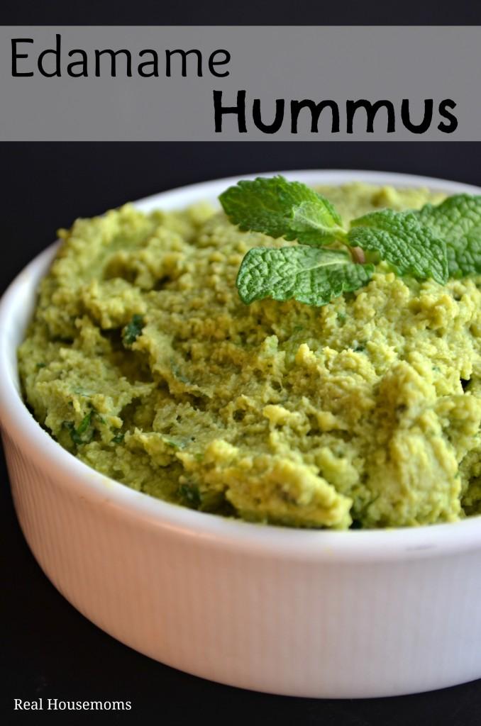 Edamame Hummus | Real Housemoms