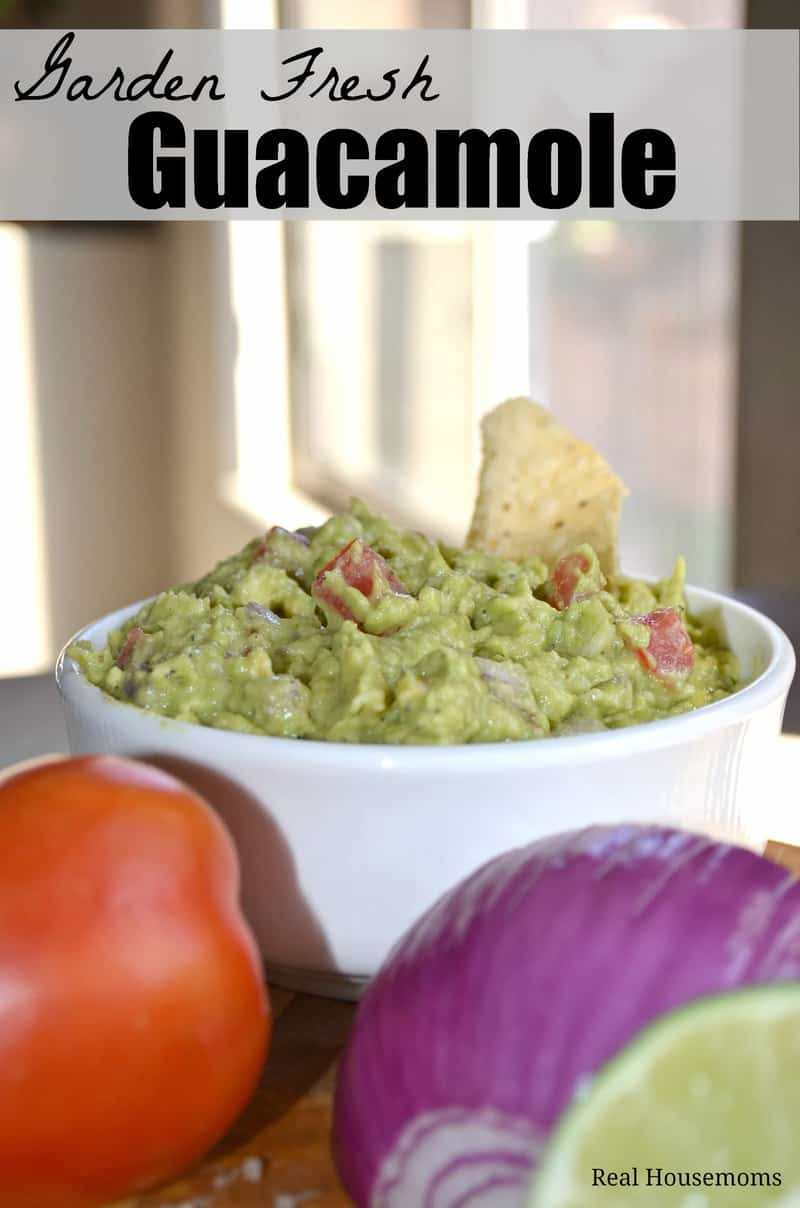 Garden Fresh Guacamole | Real Housemoms