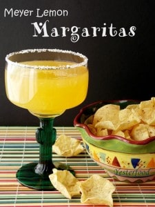 Meyer Lemon Margaritas | Yesterfood