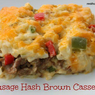 Sausage Hash Brown Casserole