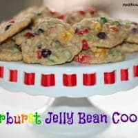 Starburst Jelly Bean Cookies