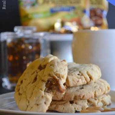 Sugar-Free Caramel Coffee Cheesecake Pudding Cookies