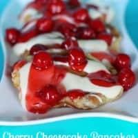 Cherry Cheesecake Pancakes 3