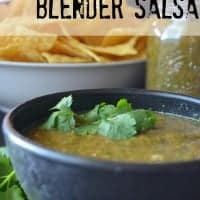 Easy Blender Salsa | Real Housemoms