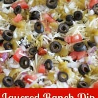 Layered Ranch Dip