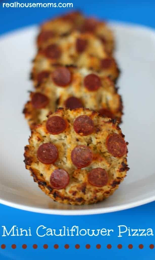 Mini Cauliflower Pizza